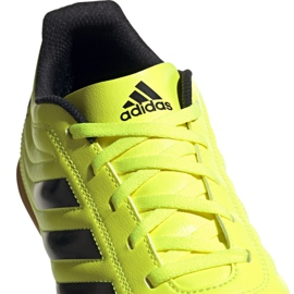 Adidas Copa 19.4 In M F35487 football shoes yellow black 3