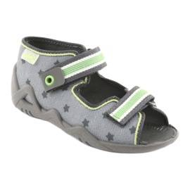 Befado yellow children's shoes 250P086 2