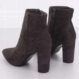 Gray High heels gray NS039P Gray grey 3