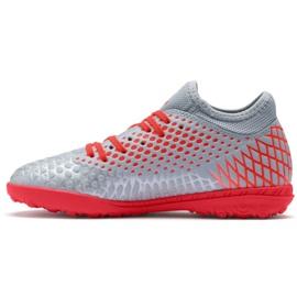 Puma Futrure 4.4 Tt Jr 105699 01 shoes gray grey grey 1
