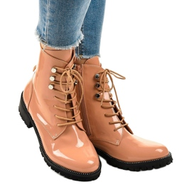 Pink women's high boots XW37278 1