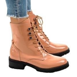 Pink women's high boots XW37278 2