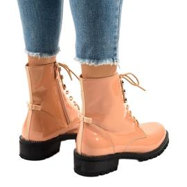 Pink women's high boots XW37278 3