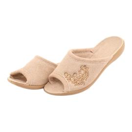 Befado women's shoes pu 256D013 brown 3