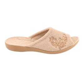 Befado women's shoes pu 256D013 brown 1
