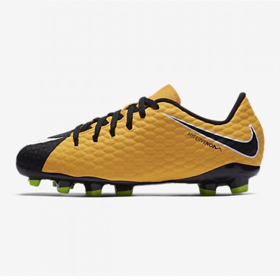 super popular e8846 f541f Nike Hypervenom Phelon Iii Fg Jr 852595 801 yellow shoes