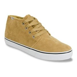 High Suede Sneakers Y009 Camel brown 6