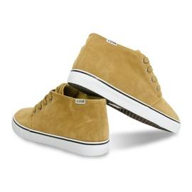 High Suede Sneakers Y009 Camel brown 3