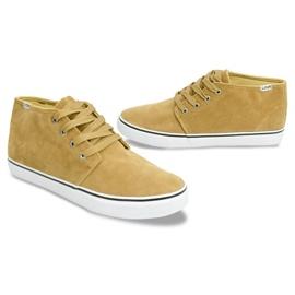 High Suede Sneakers Y009 Camel brown 5