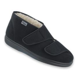 Befado men's shoes pu 986M011 black 1