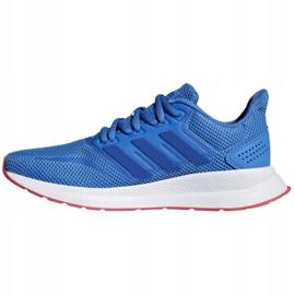 Adidas Falcon Jr F36540 shoes blue 1