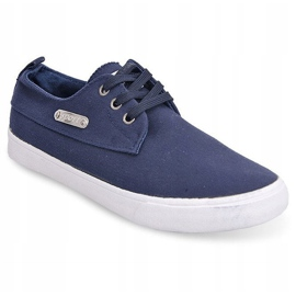 Fabric Sneakers Casual Y011 Blue 8