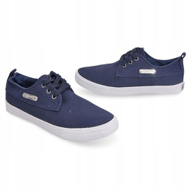 Fabric Sneakers Casual Y011 Blue 1
