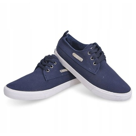 Fabric Sneakers Casual Y011 Blue 6