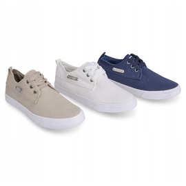 Fabric Sneakers Casual Y011 Blue 5