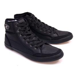 High Sneakers 201 Black 1