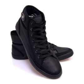 High Sneakers 201 Black 2
