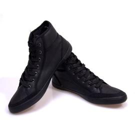 High Sneakers 201 Black 3