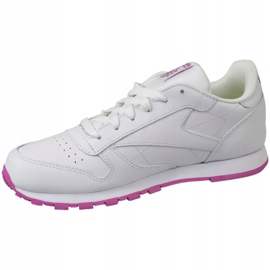 Reebok Classic Leather Jr BS8044 shoes white 1