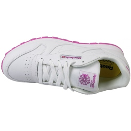 Reebok Classic Leather Jr BS8044 shoes white 2