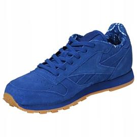 Reebok Classic Leather Tdc Jr BD5052 shoes blue 1