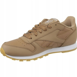 Reebok Classic Leather Jr CN5610 shoes brown 1