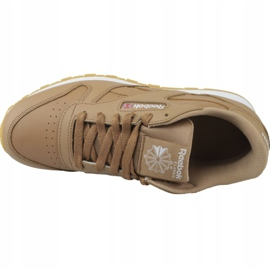 Reebok Classic Leather Jr CN5610 shoes brown 2