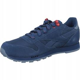 Reebok Classic Leather Jr CN4703 shoes blue 1