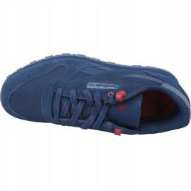 Reebok Classic Leather Jr CN4703 shoes blue 2