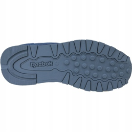 Reebok Classic Leather Jr CN4703 shoes blue 3