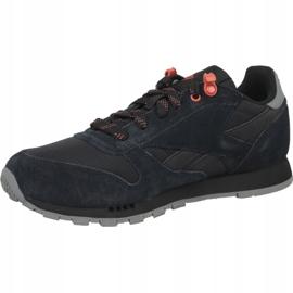 Reebok Classic Leather Jr CN4705 shoes black 1