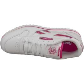 Reebok Cl Lthr Ripple Iii Jr V59227 shoes white 2