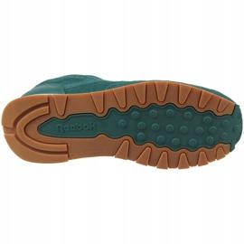 Reebok Cl Leather Sg JRCM9079 shoes green 3