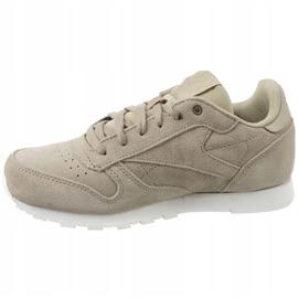 Reebok Cl Leather Mcc Jr CN0000 shoes grey 1
