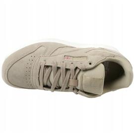 Reebok Cl Leather Mcc Jr CN0000 shoes grey 2
