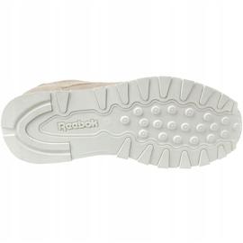 Reebok Cl Leather Mcc Jr CN0000 shoes grey 3
