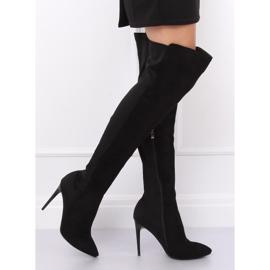 Black Thigh-high boots black 0H010 Black 5