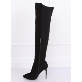 Black Thigh-high boots black 0H010 Black 6