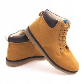 NO202 Camel Men's High Boots brown 2