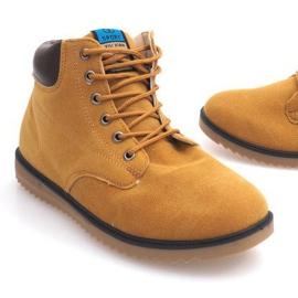 NO202 Camel Men's High Boots brown 1