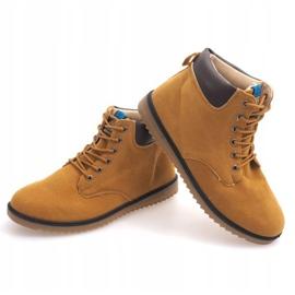 NO202 Camel Men's High Boots brown 3