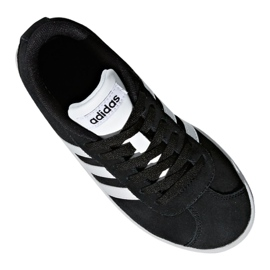 Adidas Vl Court 2.0 Jr DB1827 shoes black 4