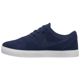 Nike Sb Check Suede Jr AR0132-400 shoes navy 2