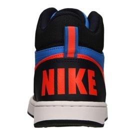 Nike Court Borough Mid Jr 839977-403 shoes blue multicolored 3