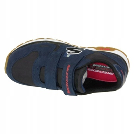 Skechers Throwbax Jr 97360-NVBK shoes navy 2