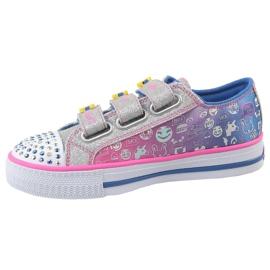 Skechers Step Up Jr 10704L-BLNP shoes multicolored 1