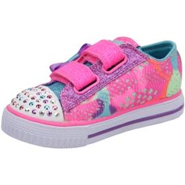 Skechers Shuffles Jr 10834N-NPMT shoes multicolored 1