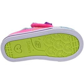 Skechers Shuffles Jr 10834N-NPMT shoes multicolored 3
