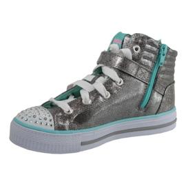 Skechers Shuffles Jr 10712L-GUTQ shoes grey 1