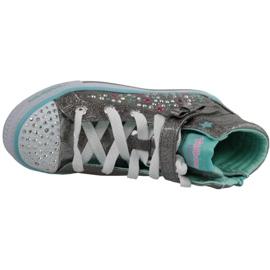 Skechers Shuffles Jr 10712L-GUTQ shoes grey 2